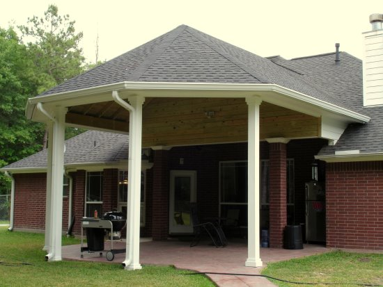 Patio Cover by Texas Decks